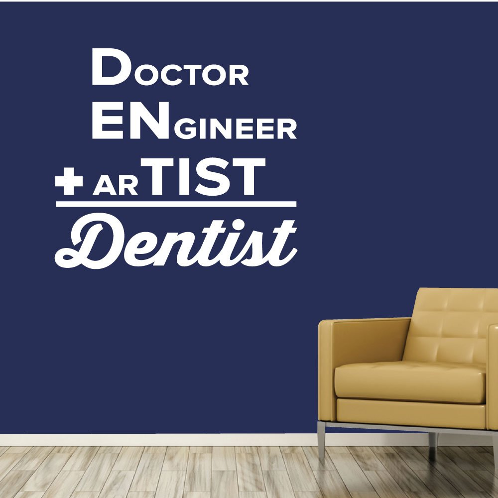Amazon com: Doctor Engineer Artist Dentist  - 0359 - Home