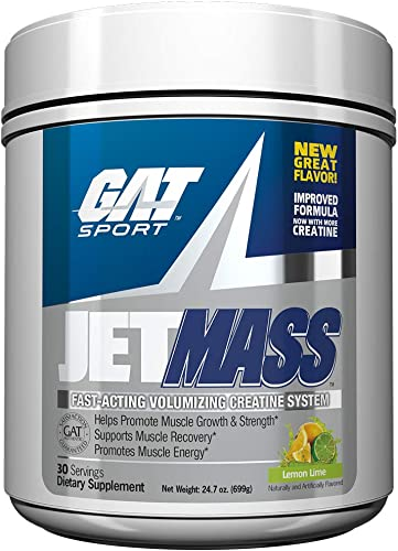 GAT Sport JETMASS Fast-Acting Volumizing Creatine System, 30 Servings