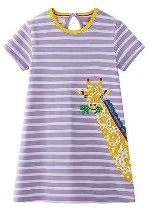 90b2c25922f04 Little Girl Trends 2019 Fashion Dress Cute Dress Party Dress Cotton  Applique A Line Dress (