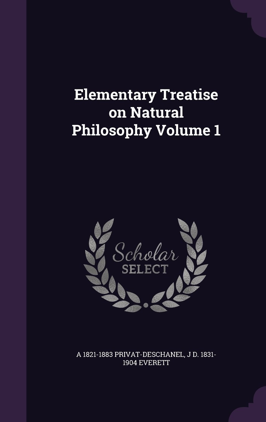 Download Elementary Treatise on Natural Philosophy Volume 1 pdf