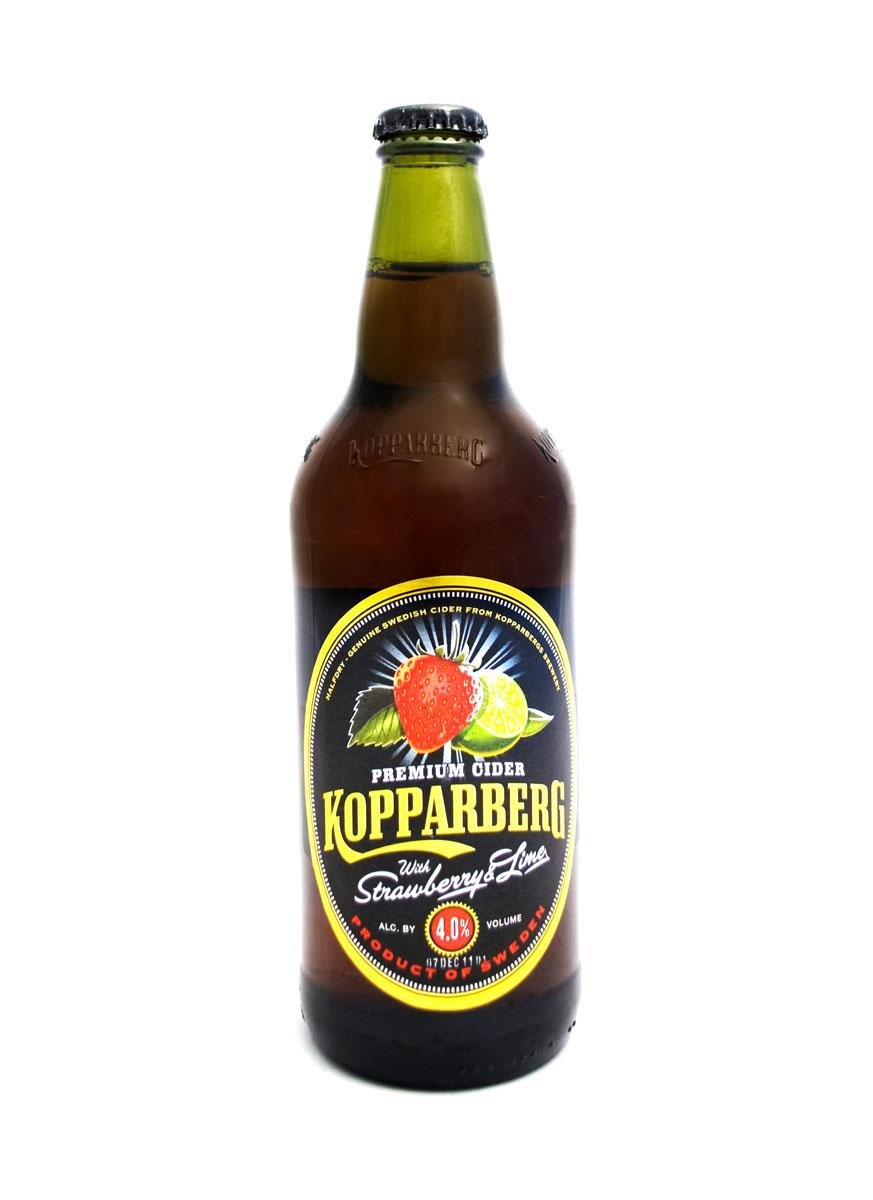 Kopparberg - Strawberry & Lime - Premium Swedish Cider - 15x500ml Bottles
