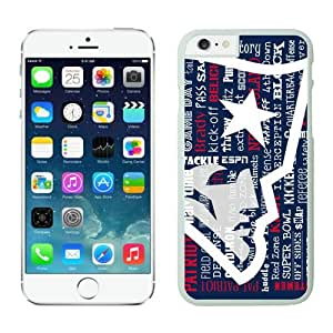 Iphone 6 Cover Case New England Patriots iPhone 6 4.7 Inches Cases 20 White TPU Protective Phone Case