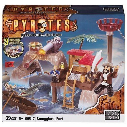 Mega Bloks Pyrates Island Playset - Smuggler