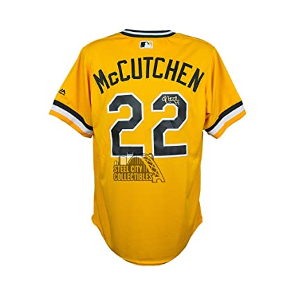factory authentic 744f5 e8748 Andrew McCutchen Autograph Pirates Sunday Throwback Cool ...