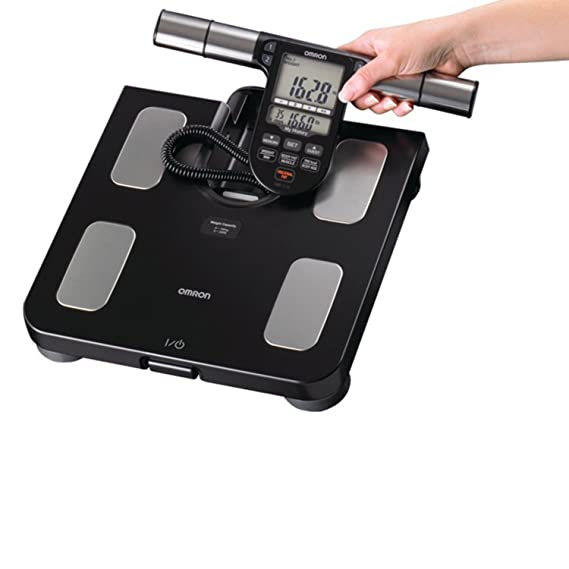 Omron Healthcare HBF-516B - Báscula de baño (LCD, Negro, 30,1625 cm, 32,7025 cm, 5,39 cm, AA): Amazon.es: Electrónica