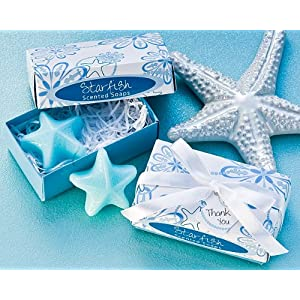 Starfish Scented Soaps Wedding or Party Favors