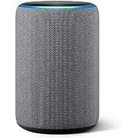 Nuevo Echo (3ra generación) - Bocina inteligente con Alexa - Gris oscuro