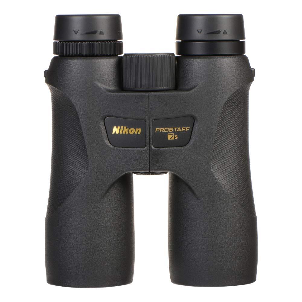 Nikon 16003 10x42 ProStaff 7S Binocular All-Terrain Waterproof and Fogproof (Black) Bundle with Nikon Cleaning Cloth, Lens Pen and Lumintrail Keychain Light by Nikon (Image #4)
