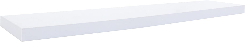 estantes de Madera RE6063 Sala de Estar- Medidas: 3,8 x 25 x 25 cm AxANxF Rebecca Mobili Juego 2 estantes Cuadrados Blancos estantes de Pared Modernos - Art
