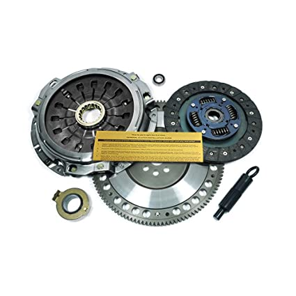 Amazon.com: EFT CLUTCH PRO-KIT & CHROMOLY FLYWHEEL MITSUBISHI LANCER EVO 4 5 6 7 8 9 TURBO: Automotive