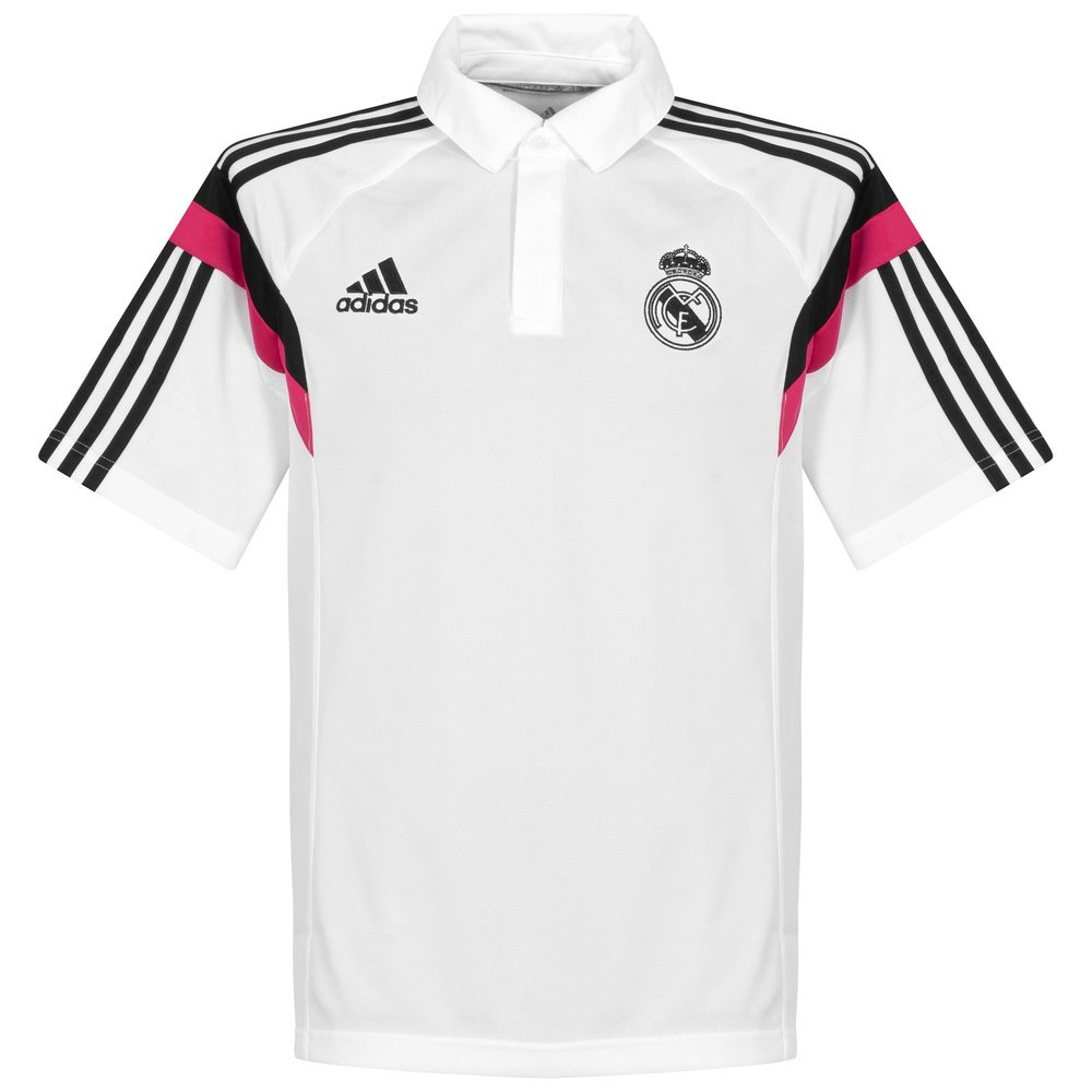 Polo Real Madrid -Blanco- 2014-15: Amazon.es: Deportes y aire libre