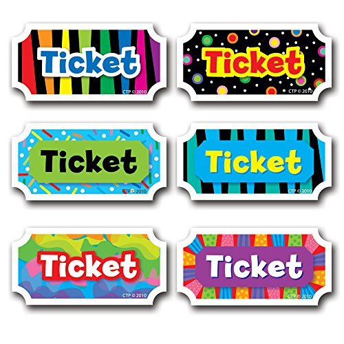 Creative Teaching Press Classroom Management Incentives, Tickets (5947)
