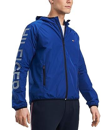 wide varieties crazy price arrives Amazon.com: Tommy Hilfiger Mens Hooded Windbreaker Jacket ...