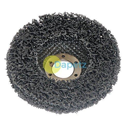 Daptez ® Polycarbide Abrasive Disc Silicone Grinding 115mm 22.23mm Bore Dapetz