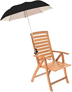 Pro Beach 2 Pack Pink Lightweight Clip On Chair Parasol Beach