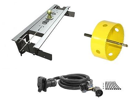 amazon com b w hitches gnrk1108 turnoverball gooseneck hitch kit w rh amazon com FRD Gooseneck Wiring Harness 2018 gooseneck trailer wiring kit