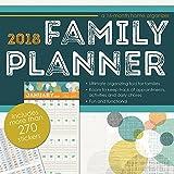Family Planner (w/bonus sticker sheet) 2018 Wall Calendar