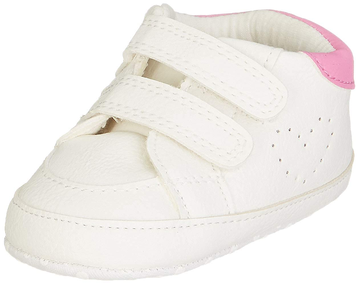 Mothercare Baby Girl's White Booties-3