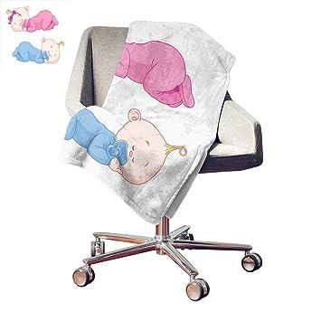 Amazon.com: Manta de felpa personalizada para bebé, dos ...