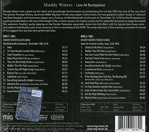 Live At Rockpalast 2CD + 2DVD by Made in Germany (Image #1)