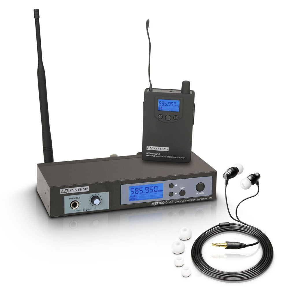 LD Systems MEI 100 G2 B5-Wireless in-Ear Monitoring System (MEI100G2B5)