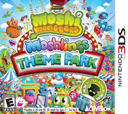 Moshi Monsters Moshlings Theme Park - Nintendo (Theme Monster)
