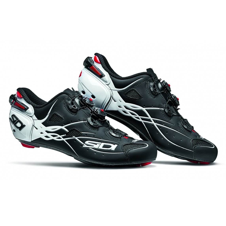 SIDI(シディ) SHOT(ショット) Road Cycling Shoes - Matt Black/White [並行輸入品] 45 EUR [27.5cm]  B07BXLX37N
