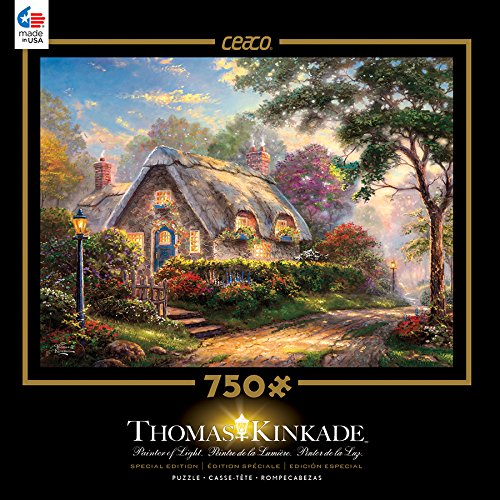 Ceaco Thomas Kinkade Special Edition Metallic Foil Lovelight Cottage Puzzle (750 Piece)