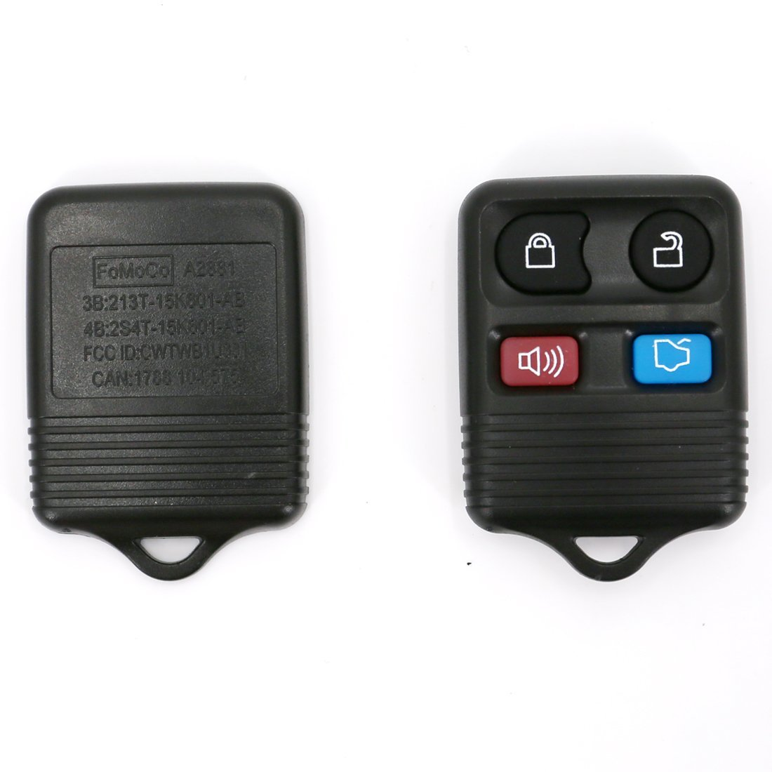 UTSAUTO Replacement Keyless Entry 1 Pack Remote Control Ford Lincoln Mercury Key Fob Clicker Transmitter 4 Button