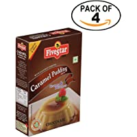 Five Star Caramel Chocolate Pudding (100g) - Pack of 4