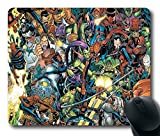 Spider-Man Custom Rectangle Mouse Pad Oblong Gaming Mousepad in 220mm*180mm*3mm (9'*7') -828004