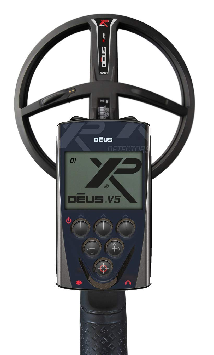 Amazon.com : XP Deus Metal Detector with WS4 Backphone Headphones + Remote + 9