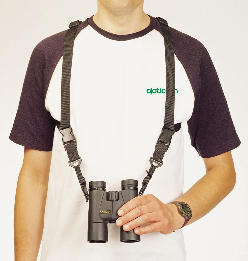 Opticron 25mm Nylon and Leather Binocular Harness with Quick Release System