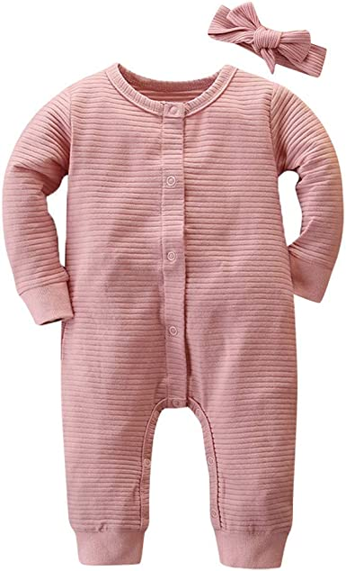 AMhomely Baby Girls Baby Boys Rompers Unisex Bodysuits Onesies Clearacne Sale Newborn Infant Baby Girls Boys Warm Knitted Sweater Romper Jumpsuit Outfits for 0-24Months