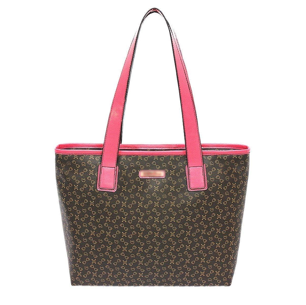 Hale Tomlinson Woman PU printing Fashion All-match Single Shoulder Bag Inclined Shoulder Bag Handbag