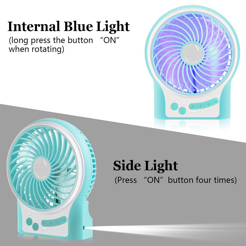Mini Fan Anmete Usb Rechargeable Handheld Personal Table Desk Diagram All Picture Battery Powered Portable Cooling