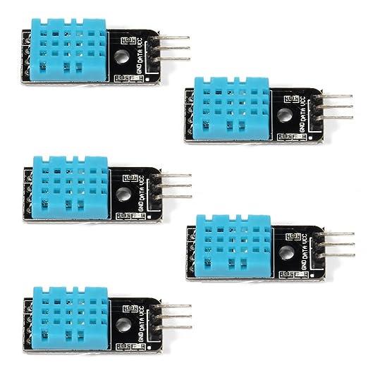Prime Wingoneer 5Pcs Of Temperature Humidity Sensor Module Digital Dht11 Wiring Digital Resources Indicompassionincorg