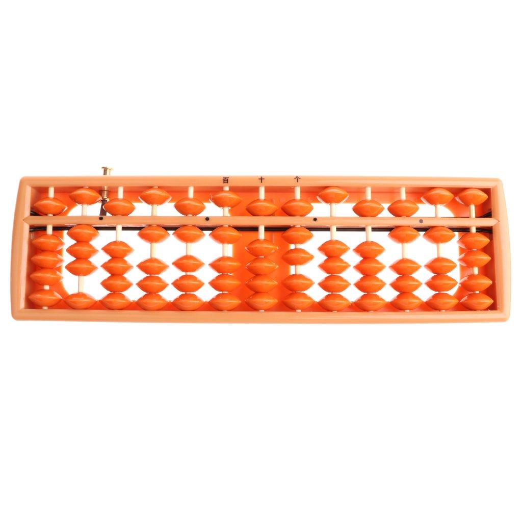 Abacus 13 Fenteer Mini Abaque Arithm/étique en Plastique Outil de Calcul Guide Pratique # 2