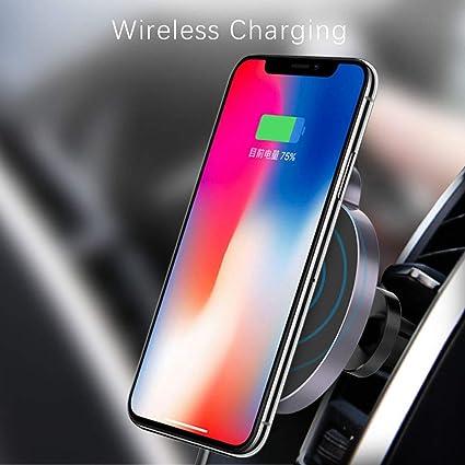Amazon.com: Ovevo Cargador de coche inalámbrico magnético ...