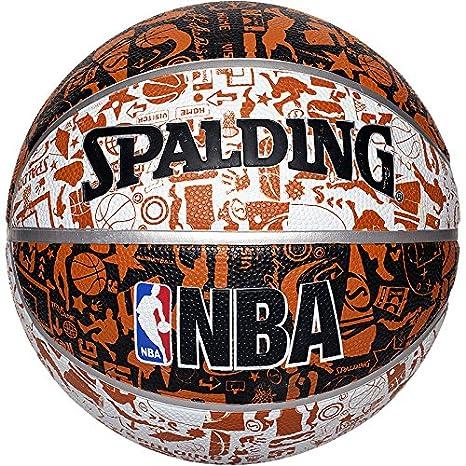 Spalding NBA - Balón de baloncesto (talla 7), diseño de grafiti ...