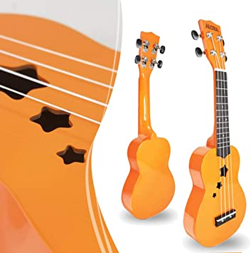 12che 53cm Ukelele Principiante 4 Cuerdas Kit de Guitarra para ...
