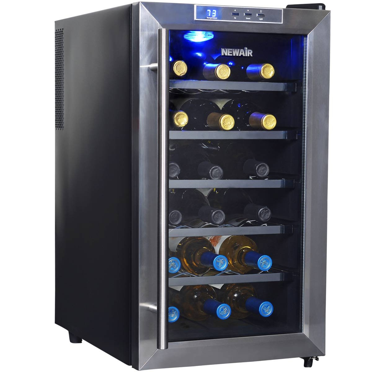 NewAir AW-181E 18 Bottle Thermoelectric Wine Cooler, Black by NewAir (Image #12)