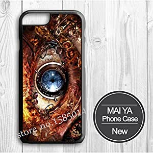 steam punk eye Protective case Hard Plastic Original case for Iphone4 4s 5 5S 5C 6 6 puls Cover