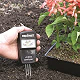 RAPITEST 4-Way Analyzer LUSTER LEAF 1880 Soil MOISTURE PH LIGHT Meter Tester