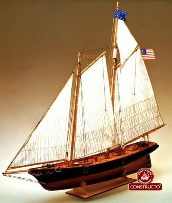 Amazon.com: América – Modelo Ship Kit por constructo: Toys ...