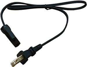 "Power Cord for West Bend Slow Cooker 84114 84124 (36"" Cord)"