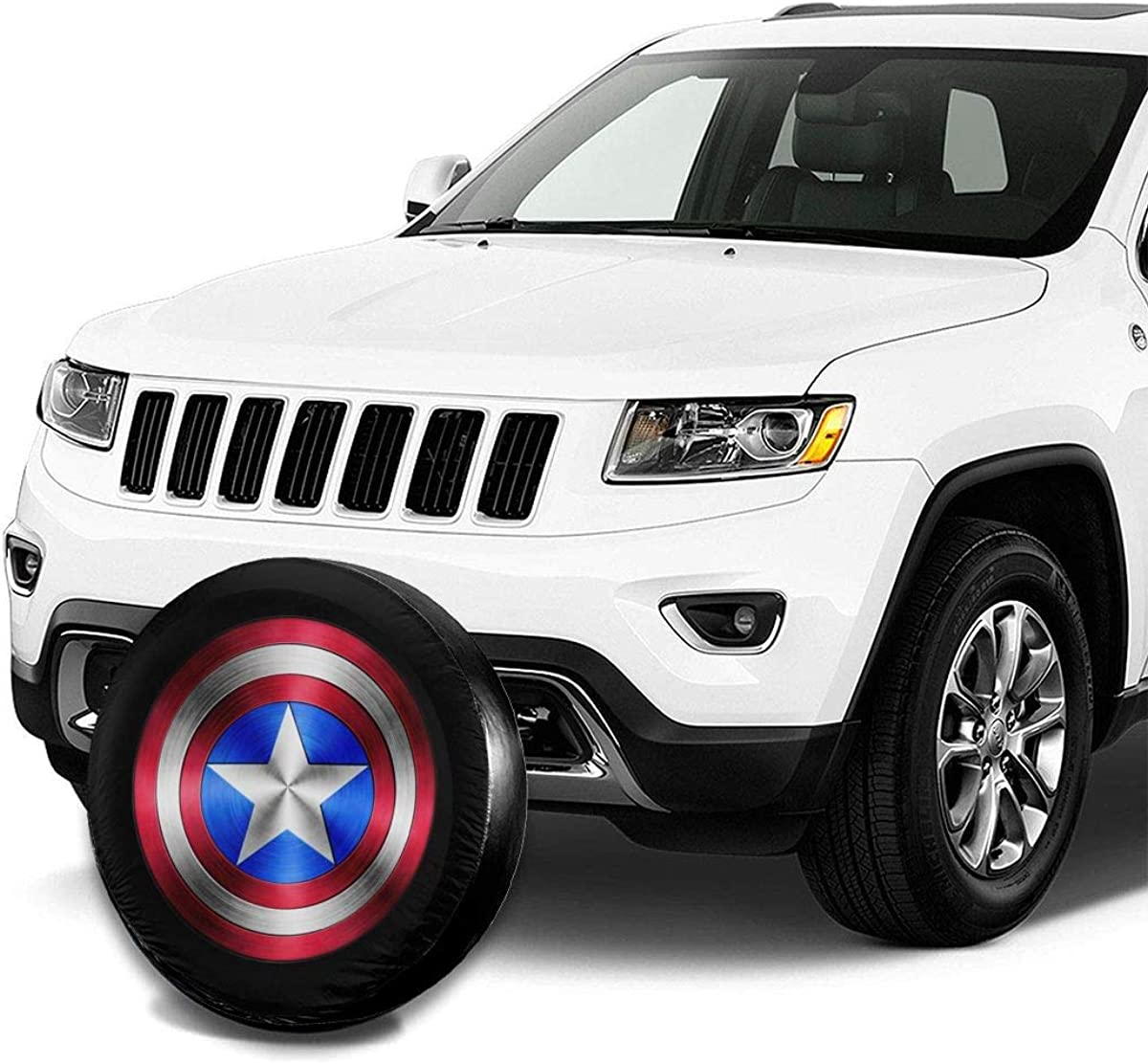 Car Truck Wheel 14 15 16 17 Inches Trailer RV Universal Fit for Jeep DEETU Spare Tire Cover