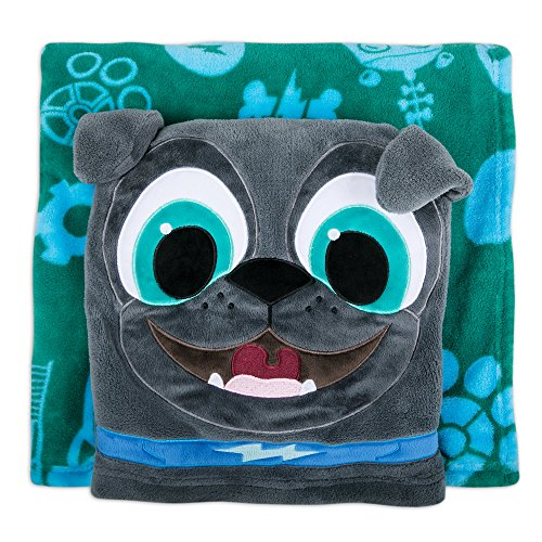 Disney Bingo Fleece Throw - Puppy Dog Pals