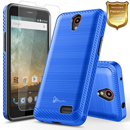zte prelude blue phone case - 8