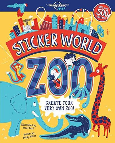 Sticker World   Zoo  Lonely Planet Kids